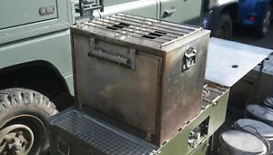 No. 4, No. 5 Army cookset oven.  Field Kitchen