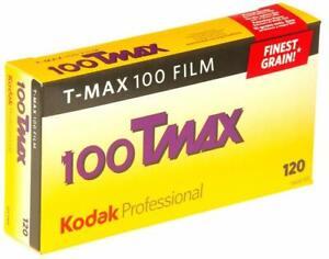 5 x Kodak Pro T-Max 100 B&W Negative Camera Film (120 Roll Film, 5-Pack) 5 Rolls
