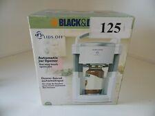 Black & Decker JW200 Lids Off Automatic Jar Opener NEW