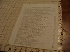 vintage Original Sci Fi paper(s): Gerry de la Ree 1973 list of items for sale 8p