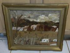 Pansy Stockton Sun-Painting POJOAQUE VALLEY Originator Santa Fe NM Original
