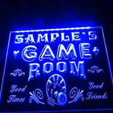 Personalized Game Room Neon Light Sign Your name in lights Custom