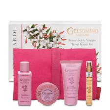 L'erbolario Indian Jasmin Travel Beauty Kit Shower Gel&Soap&Perfume&Body Cream