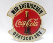 Coca-Cola - WIR ERFRISCHENN DEUTSCHLAND - PINS attacco con bottone a innesto