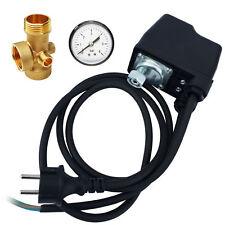 AWM Druckschalter Hauswasserwerk 3 Tlg automatische Pumpensteuerung Druckwächter