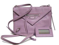 77db90744c31 New  1350 Papier Mini AJ Envelope Triple Bright Pink Leather Cross Body Bag