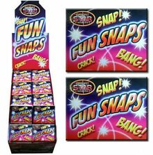 4 X FUN SNAPS - Child Birthday Party Bag - Aka Exploding Poppers Bangers D7