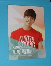 SHINee SM town III Concert Japan Photocard Jonghyun (OFFICIAL)