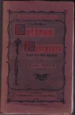 JACQUES LIENARD  MISSIONNAIRE AU ZAMBEZE  LETTRES ET FRAGMENTS   D. BENOIT  1902