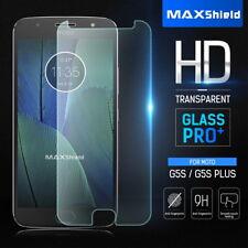 MAXSHIELD Motorola G5S Plus G5/G5 Plus Tempered Glass LCD Screen Protector Guard