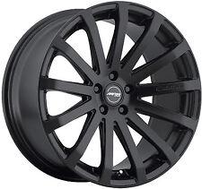"""18"""" MRR HR9 Wheels For Audi A4 Quattro VW Passat CC 5X112 Black rims set (4)"""