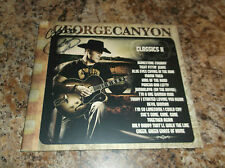 GEORGE CANYON AUTOGRAPHED CLASSICS 2 CD COMPACT DISC PROOF