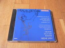 Järvi - Stravinsky : Symphony of Psalms, Symphony in C,Piano Concerto CD Chandos