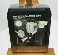 Live at the Palomino club Del Reeves 8 Track Tape Factory Sealed NOS