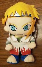 Rare Imported Minato Namikaze Naruto Anime Stuffed Animal Plush Toy