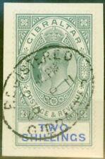 VF (Very Fine) Used Gibraltar Stamps