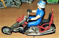 Vintage Britains Ltd 9677 Long Fork Chopper Motorcycle w/ Rider