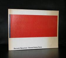 Grand Palais Paris # BARNETT NEWMAN # Wim Crouwel, 1972, vg++