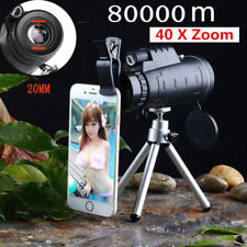 40X60 Zoom Optical Lens HD Camera Telescope + Tripod + Clip For Univer