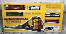 Mehano Thunderbolt Express Coca Cola Texaco Coke HO Train Set New Open Box