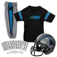 Franklin Carolina Panthers 5 Piece Youth NFL Football Jersey Helmet Pants Medium