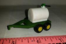 1/64 custom ertl farm toy 500 gal diesel fuel barrel trailer green tandem axle