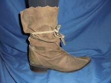 Roberto Botella Damen Stiefel Antik Look Boots Gr 39 Details Wildleder Herbst