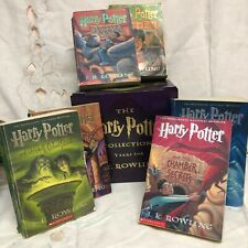 Harry Potter Six Book Series~ Years 1-6~Paperback in Holder~ J. K. Rowling
