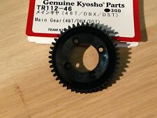 KYOSHO DBX DRT DST DRX 46 TEETH SPUR/MAIN GEAR TR112-46
