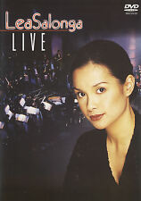 DVD Lea Salonga Live (2000) On Stage Concert in Manila