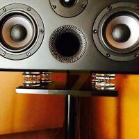 4 pcs Isolation Stand Feet Improve Audio CD AMP HiFi Sound Quality Amplifier