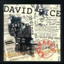 David Rice : Released - 10 TRACK MUSIC CD - NEW SEALED - F793