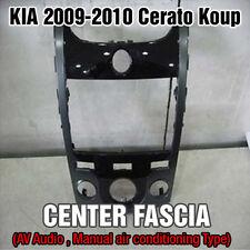 OEM Parts Dash Board Center Fascia Glossy Black For KIA 2010-2013 Cerato Koup