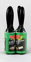 Large Jumbo 3M Scotch Brite Lint Rollers Pet Hair Clothes Fluff Remover 1 4 8 16