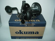 OKUMA CONTOURA CR453CS HIGH SPEED Open Top Saltwater Trolling Reel 20/25/30LB