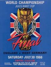 1966 WORLD CUP FINAL- ENGLAND v WEST GERMANY