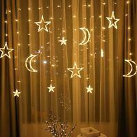 Indoor Outdoor christmas String Fairy Wedding Curtain Light - 3.5M LED Lights