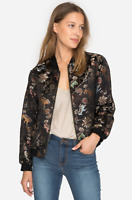 💕NWT! JOHNNY WAS Embroidered DRAGON BROCADE BOMBER Jacket S $385 💕