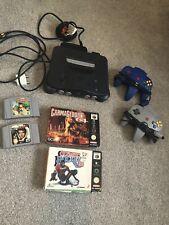 Nintendo 64 Bundle 4 Games, 2 Controllers, Expansion Pack