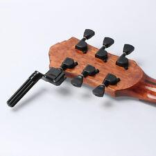 Plastic Acoustic Electric Guitar String Winder Peg Bridge Pin Tool Black