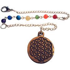 7 Chakra Anhänger Charm Blume des Lebens Flower of Life