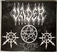 VADER - THE EMPIRE IMPERIAL EDITION INCL. IRON TIMES EP 2 CD SLIPCASE 2016