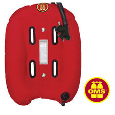 BCD OMS Single Bladder, Single Cylinder 32 lb Lift / RED ~ Free Shipping