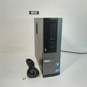 DELL OPTIPLEX 790 SFF i3 2120 PC COMPUTER 8GB 500GB WIN 10 PRO W228