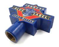Vintage Tooheys Blue Label Brewery Beer Tap Pub Handle Knob Blue Color