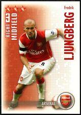 Fredrik easier Arsenal disparar fuera 2006-7 Caja Mágica tarjeta de comercio de fútbol (C1293)