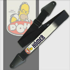 "The Simpsons GUITAR STRAP HOMER D'OH DOH OFFICIAL MERCHANDISE 2"" STRAP"