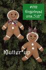 Bearington Bears Christmas Boy or Girl GINGERBREAD COOKIE ORN 1762