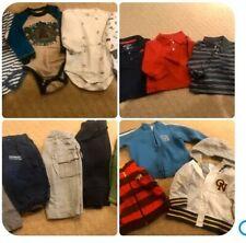Huge 27 Pc boys outfit Lot 12-18mo Jacket Shirts Bodysuits Pants Fleece Spring