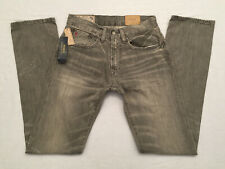 POLO RALPH LAUREN Men's Rutland Gray HAMPTON STRAIGHT Stretch Jeans, Size 28x34